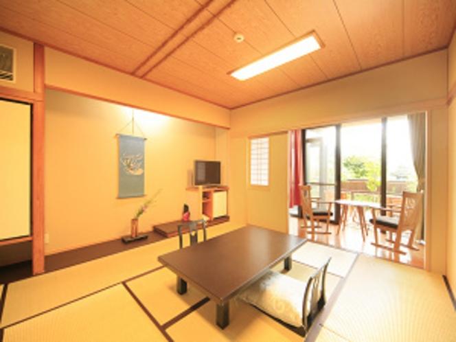 風の棟1階【露天風呂付き】和室10畳(一例)