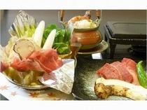 松茸&大和牛会席(イメージ)