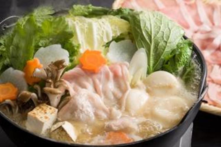 ヤマトポークの柳生鍋