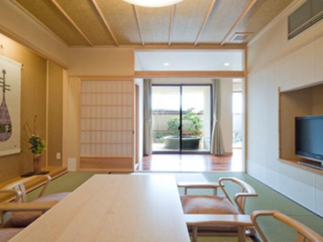 風の棟【露天風呂付】特別和洋室の和室(10畳)
