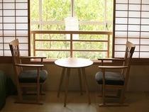 風の棟【露天風呂付】メゾネット2階建てバス・トイレ付(一例)