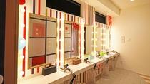 エムズ京都インフォメーションセンター 女性に嬉しいパウダールームも完備