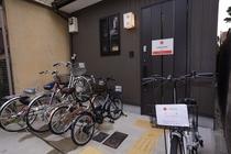 無料レンタル自転車5台 サイズ3種類 27,26,24,20インチ