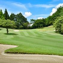 *ゴルフコース/自然が創った地形を活かした全8ホールのゴルフ場
