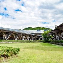 *外観/栃木県マロニエ建築賞を受賞した木造建築のホテル兼クラブハウス