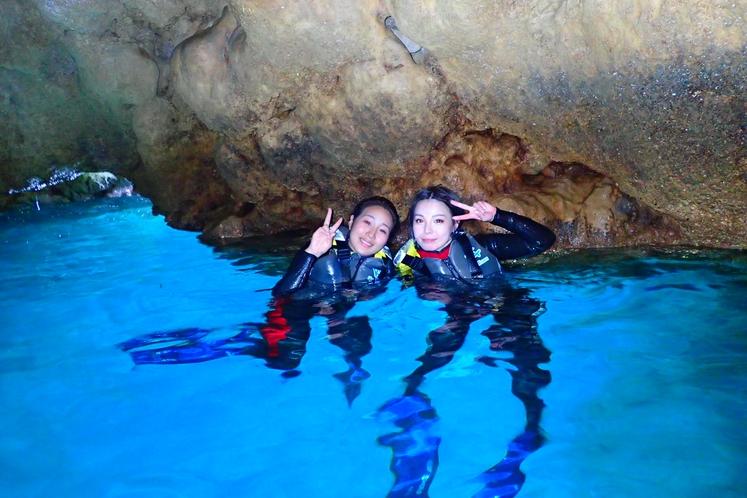 ソードフィッシュ青の洞窟
