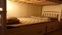 客室:ベッドアップ夜