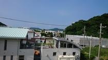屋上から見た風景