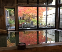 秋の大浴場