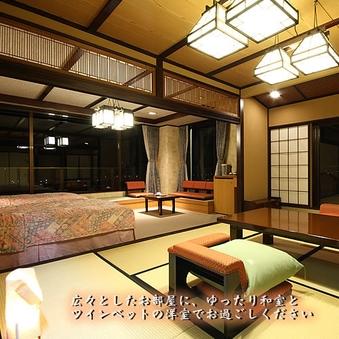 朝凪の棟【海側】絶景の和洋室(10畳+ツインベッド)
