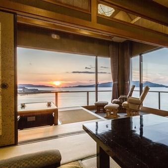 夕凪の棟【角部屋に位置する景観は当館随一の3階特別室】