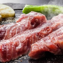 牛ロースステーキ(レストランあまのゆ)