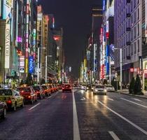 【銀座】街の様子