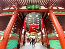 【浅草】東京を代表する観光地のひとつ。東京メトロ銀座線にて最終浅草駅までダイレクトアクセス