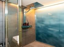 【スタンダードキング】HANSGROHE社製の大型レインシャワー兼備のシャワーブース