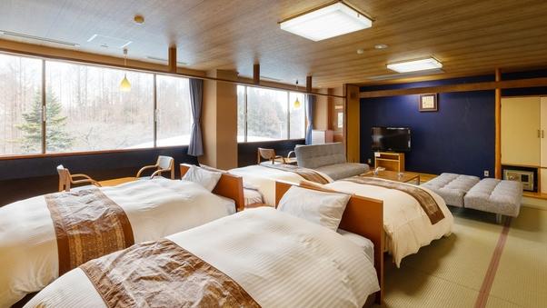 【ザ・メイン】和室フォースルーム 4ベッド20畳 / 禁煙