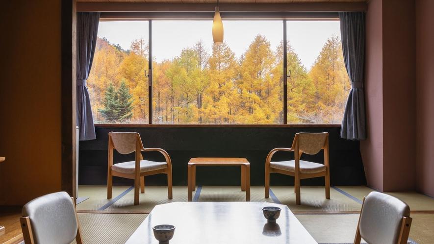 【ザ・メイン 和室】スタン―ドタイプの和室10畳です。ご家族やグループでのご旅行に最適です