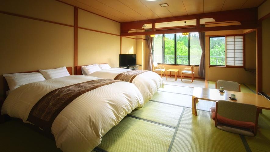 【J-Styleヴィラ・和室ベッドルーム】和モダンにリニューアルされた1番人気のベッドルーム