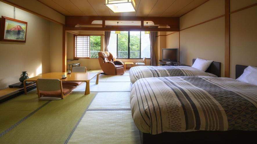 【-J-Styleヴィラ-マッサージチェア付和室ベッドルーム】最上階からの景色を眺めてゆったりと癒し