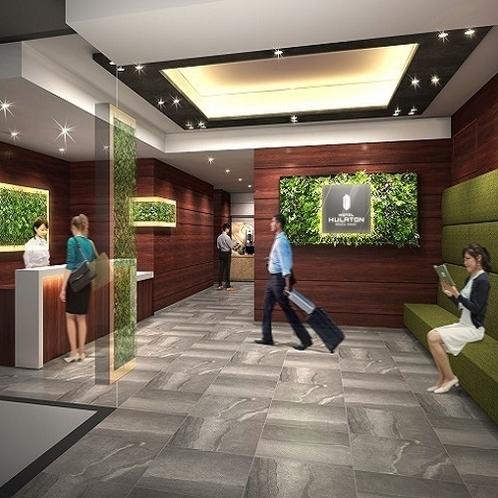 ロビー|周辺観光地へのアクセスも抜群!ビジネス・観光の拠点としておすすめでございます。