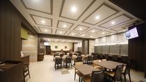 【Hatago】1F・レストラン 営業時間 06:30~09:00 (最終入店 08:45)