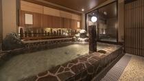 【男性】外気浴 (湯温:41~42℃)
