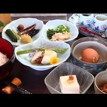 洋朝食と和朝食…お客様にあった朝食を召し上がれ♪