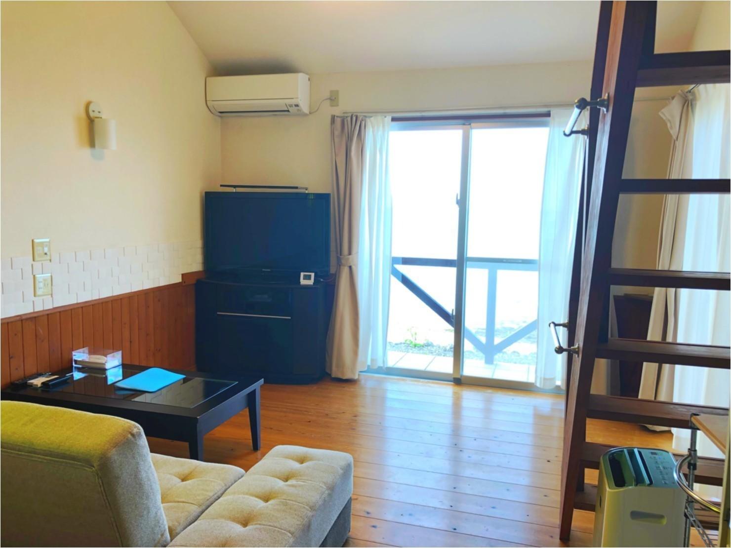 1階リビングスペース(3名様部屋)