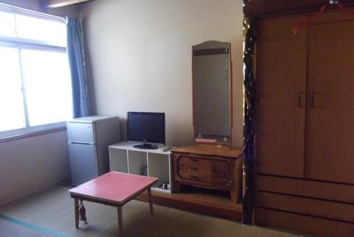 1〜2名様の和室にお布団のお部屋です。