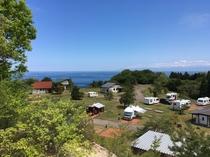 キャンプ場全景