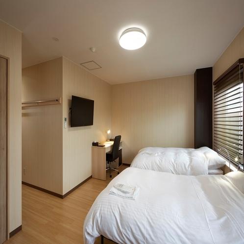 ◆ツインルームイメージ◆24平米・ベッド幅120cm×2台