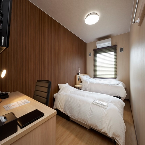 ◆プチツインルーム◆14平米・ベッド幅120cm×1台+ベッド幅100cmエキストラベッド