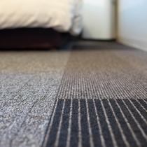【Natural】◆客室カーペットにリサイクル素材を採用!