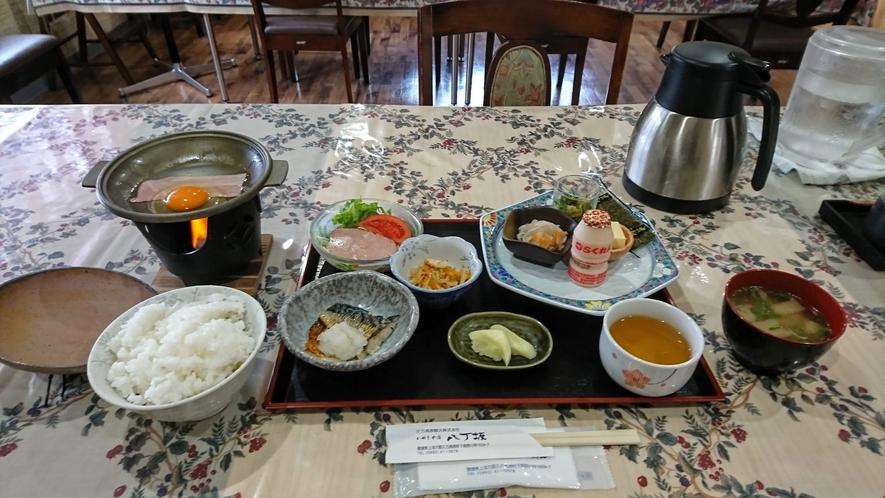 朝食(一例:お客様ご提供写真)