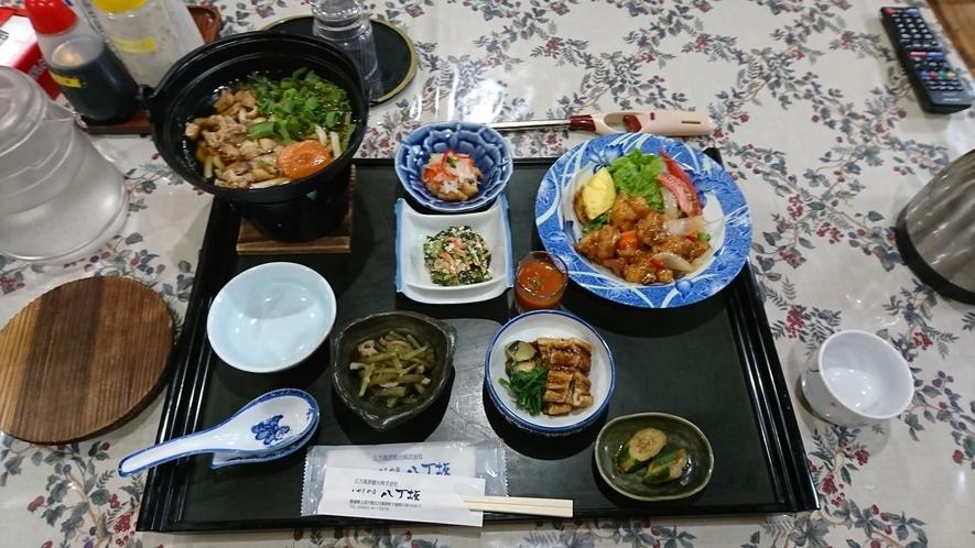 夕食(一例:お客様ご提供写真)