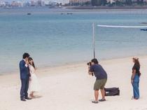 アラハビーチ(ARAHA BEACH)フォトウェディングのスポットとしても人気、お幸せに!