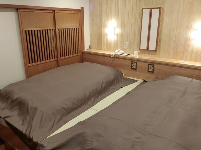 201離れ客室 10帖+ベッドルーム+炉の間