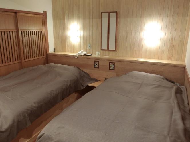 201離れ客室 和室+ベッドルーム+炉の間