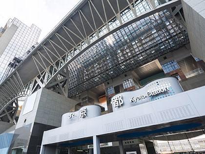 【京都駅】まで近鉄電車で5駅、10分。