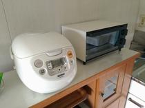 1升焚き炊飯器、無印良品トースター
