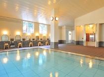 無料入浴券で入れるブルーリッジホテルの温泉浴場