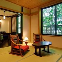 【和洋室 和室スペース】