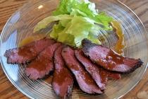 エゾシカ肉のロースト