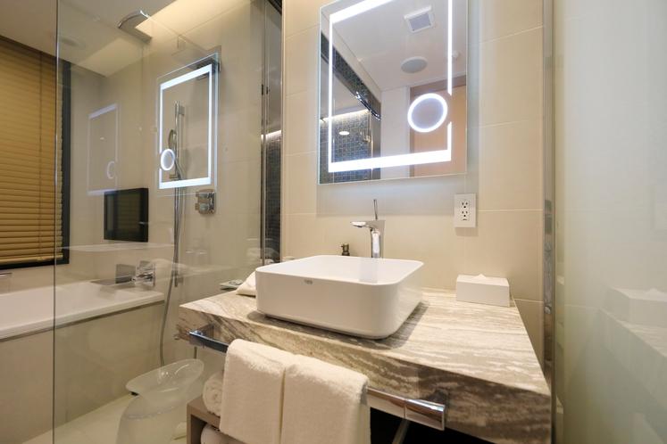 客室内 洗面浴室