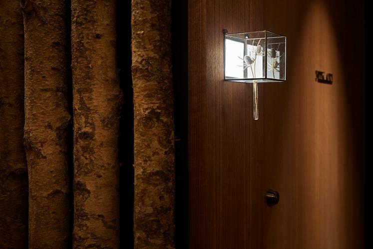 貸切風呂入口灯
