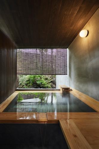 客室A01露天風呂