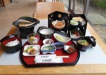和食膳の朝食