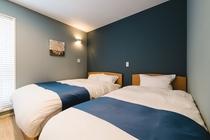 Cタイプ(寝室1:シングルベッド2台)