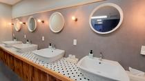 トイレ前洗面台(4つ)