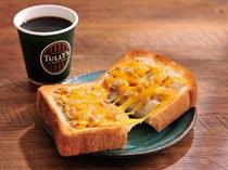 タリーズコーヒー朝食付きプラン